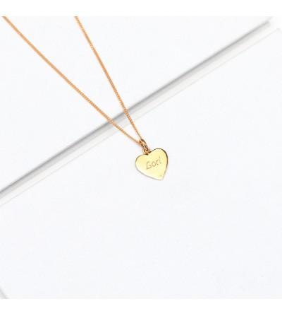 Halskette Laura goldplattiert
