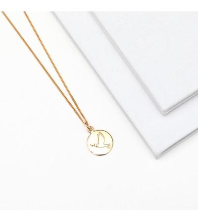Halskette Taube 585er Gold