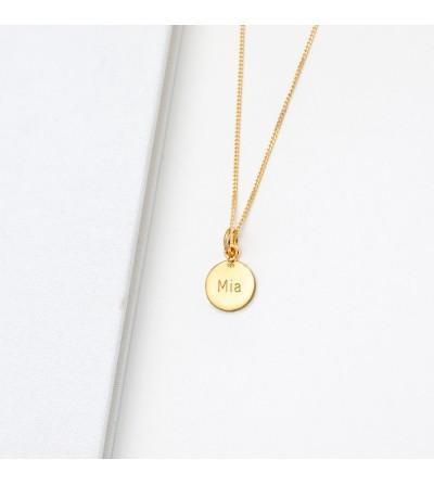 Halskette Anna goldplattiert
